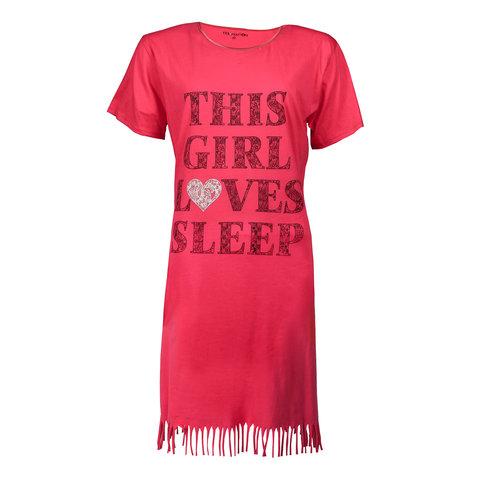 Temptation Dames Nachthemd Rood TPNGD1712A