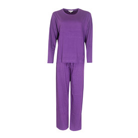 Tenderness Tenderness Dames pyjama Paars TEPYD2114A