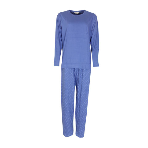 Tenderness Dames pyjama Blauw TEPYD2114B