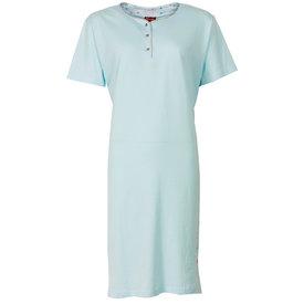 Medaillon Medaillon dames nachthemd slaapkleedje Blauw MENGD1203B
