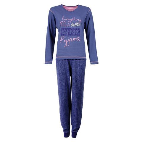 Irresistible Dames Pyjama Blauw IRPYD1602B