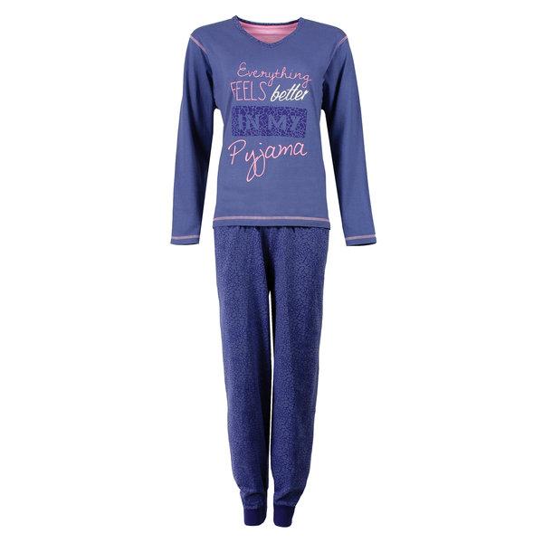 Irresistible Irresistible Dames Pyjama Blauw IRPYD1602B