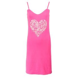 Tenderness Tenderness dames spaghetti nachthemd slaapkleedje Roze TENGD1611A