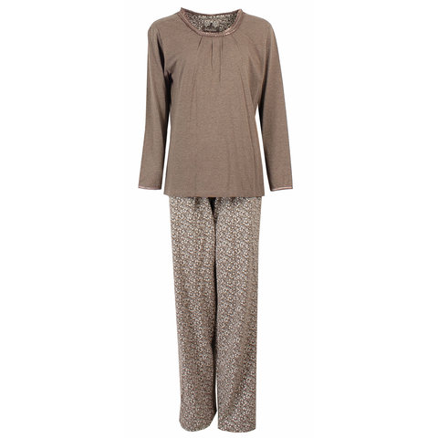 Irresistible Dames Pyjama Bruin IRPYD2222A