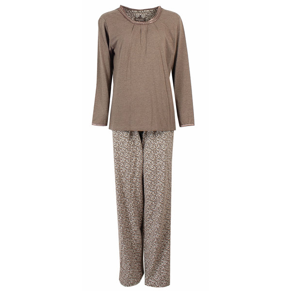 Irresistible Irresistible Dames Pyjama Bruin IRPYD2222A