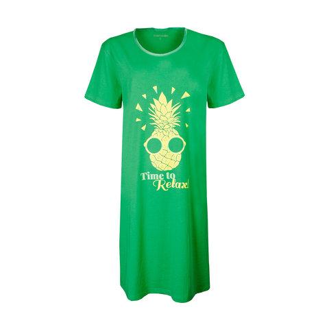 Temptation  Dames Bigshirt nachthemd slaapkleed Groen TPNGD1905A