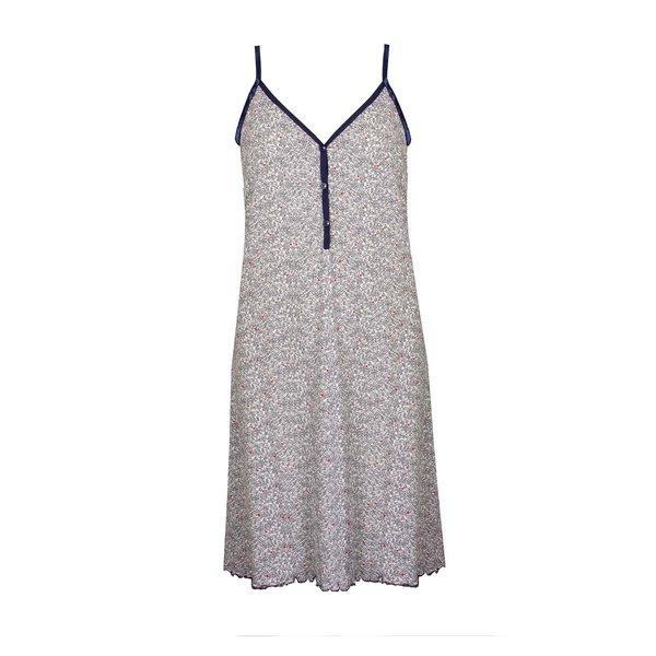 Tenderness Tenderness  Dames  spaghetti nachthemd slaapkleed Blauw TENGD1906B