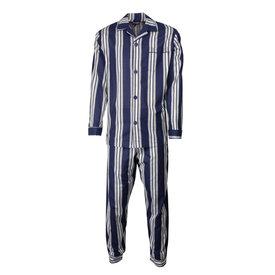 Paul Hopkins Paul Hopkins Heren pyjama doorknoop strepen  blauw ziekenhuis  PHPYH2610A