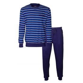 Paul Hopkins Paul Hopkins Heren Pyjama Licht Blauw strepen dessin PHPYH1907A