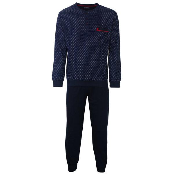 Paul Hopkins Paul Hopkins Heren Pyjama Donker Blauw PHPYH2801A