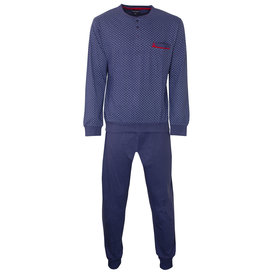 Paul Hopkins Paul Hopkins Heren Pyjama Konings- Blauw PHPYH2801B