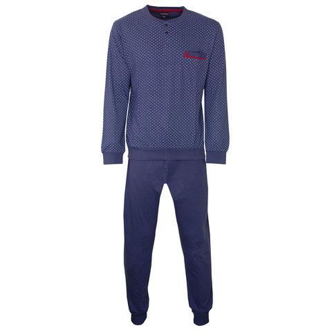 Paul Hopkins Heren Pyjama Konings- Blauw PHPYH2801B