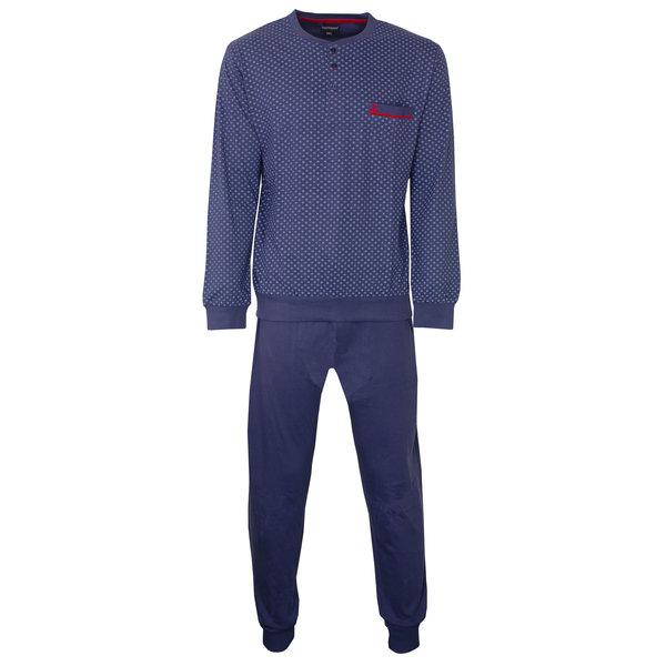 Paul Hopkins Paul Hopkins Heren Pyjama Konings- Blauw PHPYH2801B