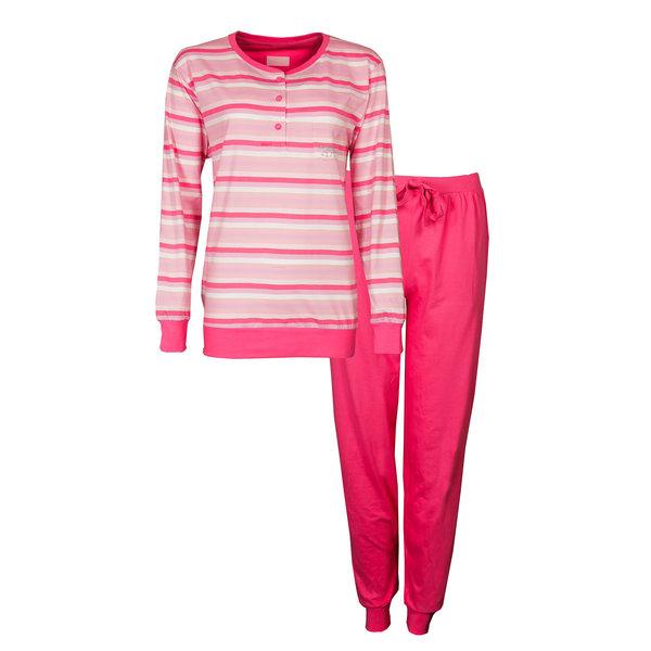 Irresistible Irresistible Dames Pyjama Roze Streep IRPYD1904A
