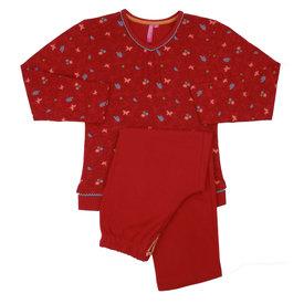AnnaRebella Annarebella meisje pyjama Rood ANNPYM2003A