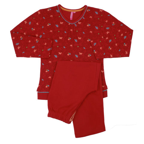 Annarebella meisje pyjama Rood ANNPYM2003A