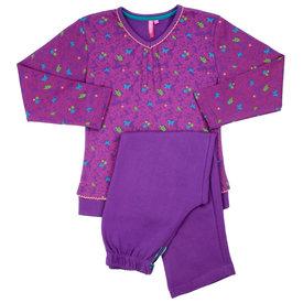 AnnaRebella Annarebella meisje pyjama Paars  ANNPYM2003B