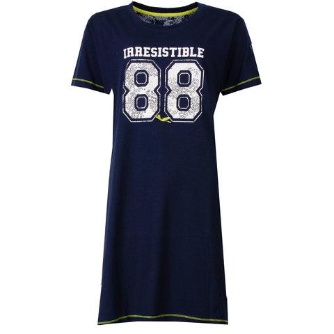 Irresistible Dames Nachthemd Donker Blauw IRNGD1501B