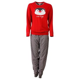 Tenderness Tenderness Dames Pyjama Rood  - TEPYD2504A