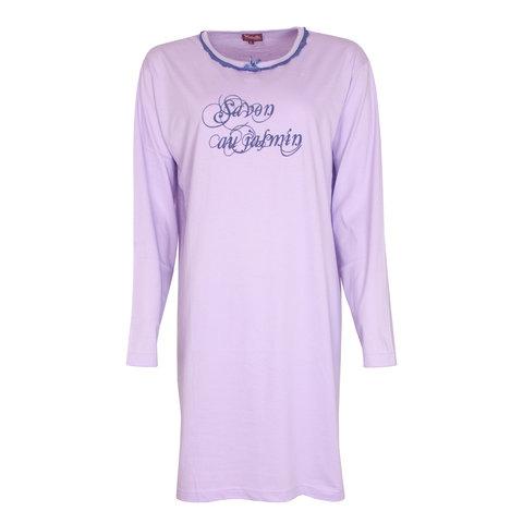 Medaillon Dames Nachthemd Paars NGD31047A