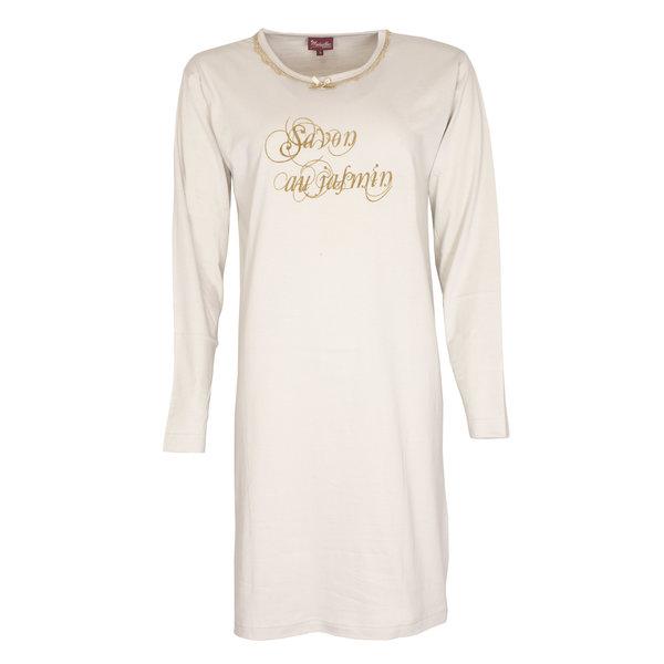Medaillon Medaillon Dames Nachthemd Beige NGD31047B