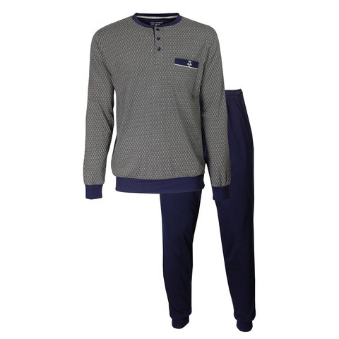 Paul Hopkins Heren Pyjama Grijs PHPYH2901A