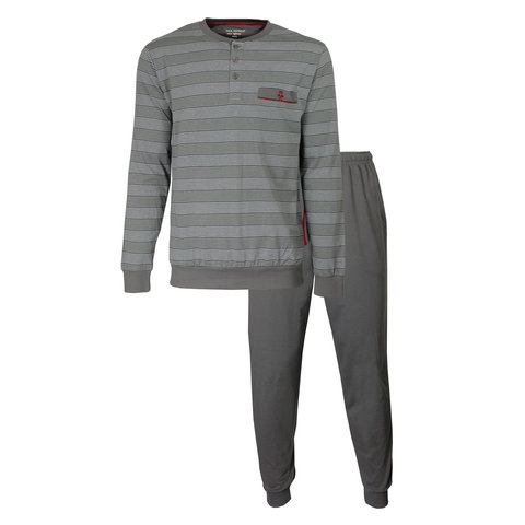 Paul Hopkins Heren Pyjama Grijs PHPYH2910A