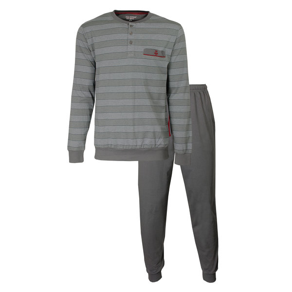 Paul Hopkins Paul Hopkins Heren Pyjama Grijs PHPYH2910A