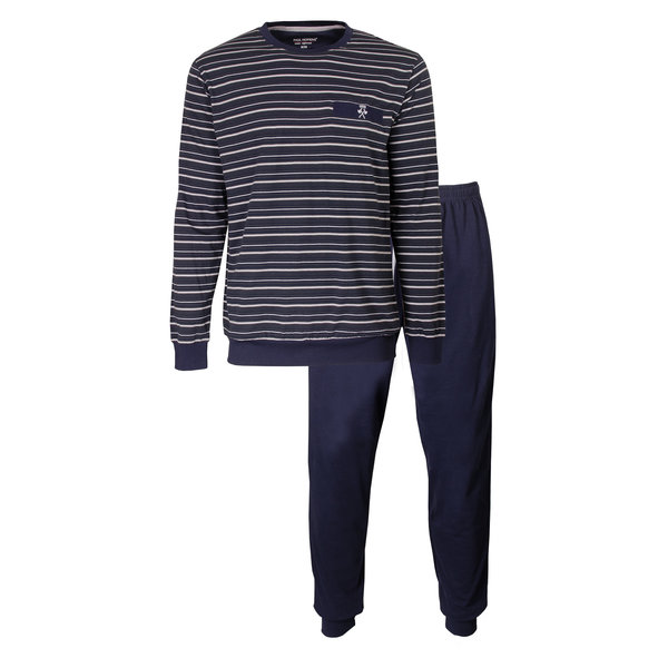 Paul Hopkins Paul Hopkins Heren Pyjama Peacoat PHPYH2902A
