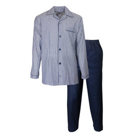 Paul Hopkins Paul Hopkins Heren Pyjama Blauw PHPYH2918A
