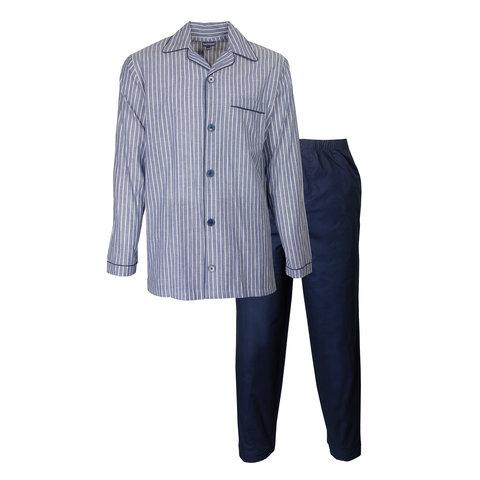 Paul Hopkins Heren Pyjama Blauw PHPYH2918A
