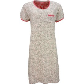 Irresistible Irresistible Dames Nachthemd Rood Bloem
