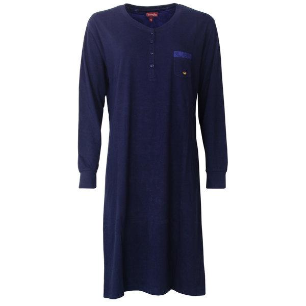 Medaillon Medaillon dames nachthemd  Blauw MENGD2802A