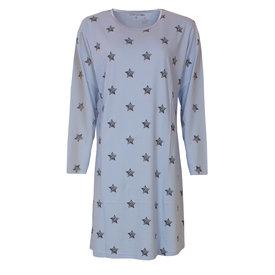 Temptation Temptation  Dames Bigshirt nachthemd slaapkleed Licht Blauw TPNGD2812A