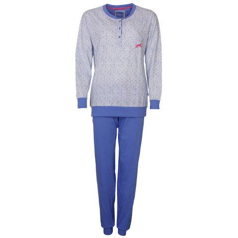 Tenderness Dames Pyjama Licht Blauw TEPYD2802B