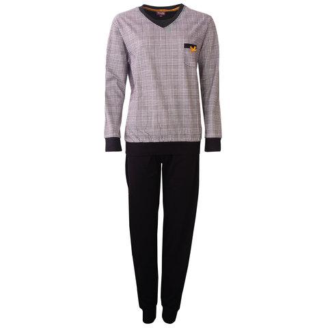 Medaillon dames Pyjama  Zwart MEPYD2803A