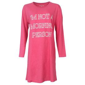 Temptation Temptation  Dames Bigshirt nachthemd slaapkleed Rose-Rood TPNGD2820A