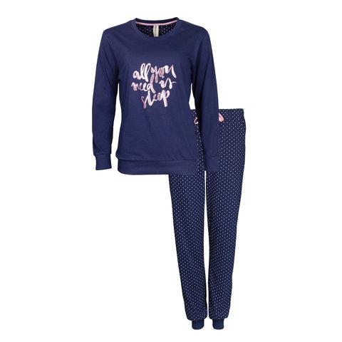 Irresistible Dames Pyjama Blauw IRPYD2905A