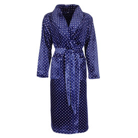 Irresistible Irresistible Badjas Blauw met stippen IRBRD2001B