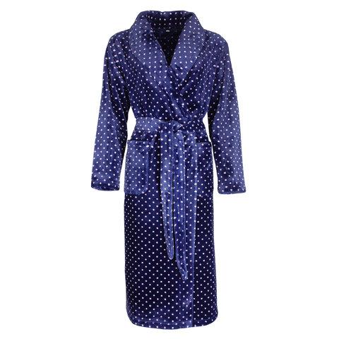 Irresistible Badjas Blauw met stippen IRBRD2001B