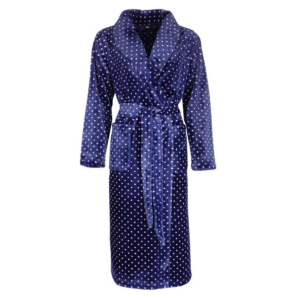 Irresistible Irresistible Badjas Blauw met stippen IRBRD2001A