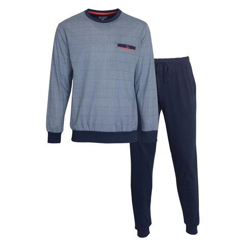 Paul Hopkins Heren Pyjama Blauw PHPYH1001A