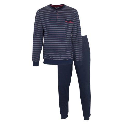 Paul Hopkins Heren Pyjama Blauw PHPYH1002A