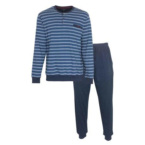 Paul Hopkins Heren Pyjama Blauw PHPYH1004A