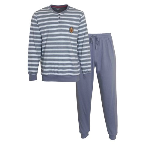 Paul Hopkins Heren Pyjama Grijs PHPYH1006B