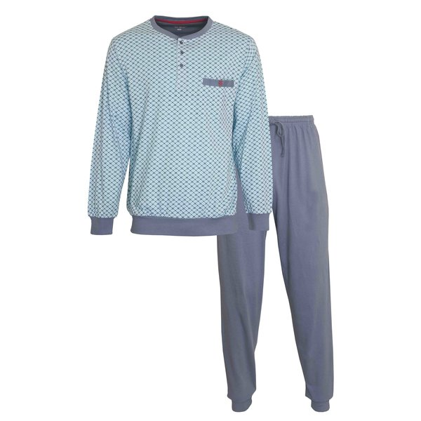 Paul Hopkins Paul Hopkins Heren Pyjama Grijs PHPYH1007B