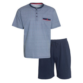 Paul Hopkins Paul Hopkins Heren shortama Blauw PHSAH1002A