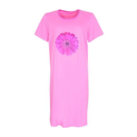 Temptation  Dames Bigshirt nachthemd Pink TPNGD1004A