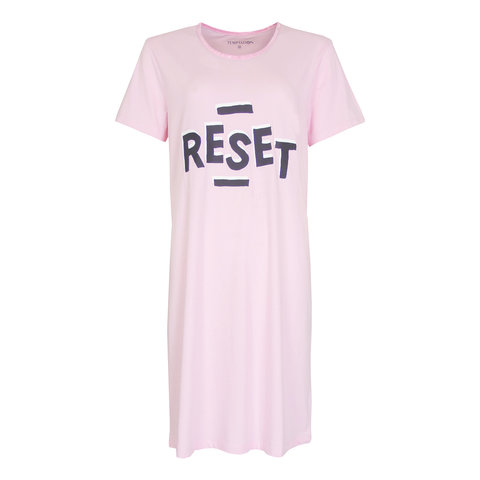 Temptation  Dames Bigshirt nachthemd Roze TPNGD1015C