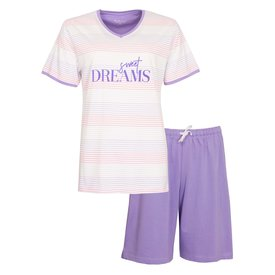 Tenderness Tenderness Dames Shortama Violet TESAD1002A